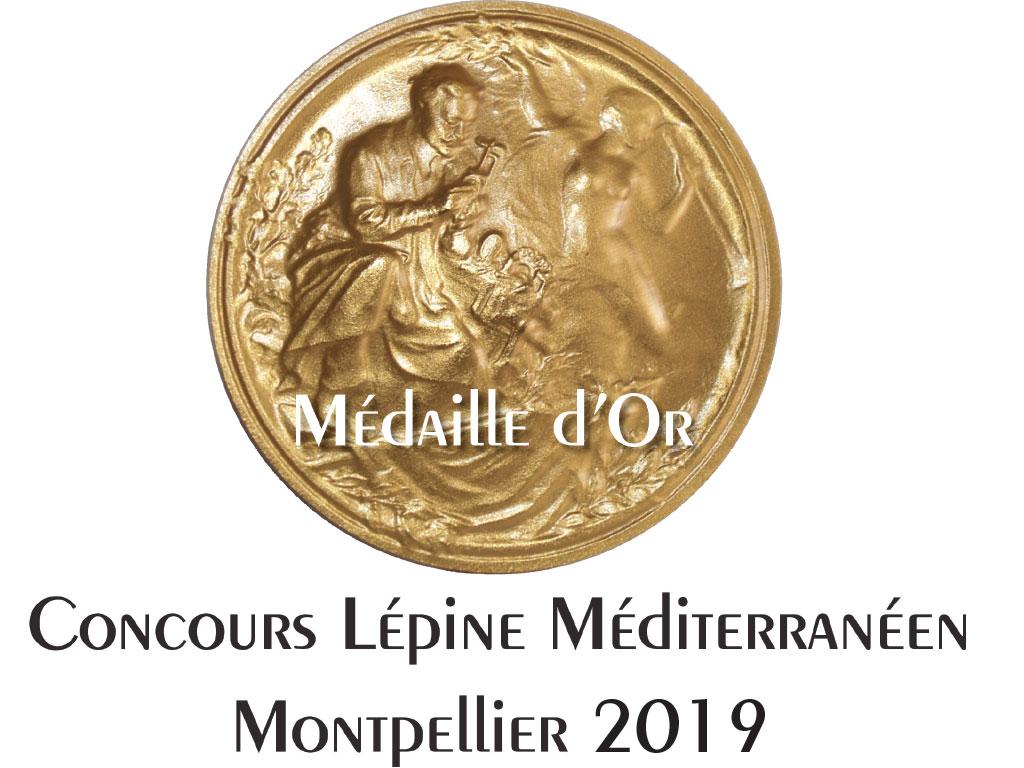 Fouclette est couronné de la médaille d'or par le salon des inventeurs