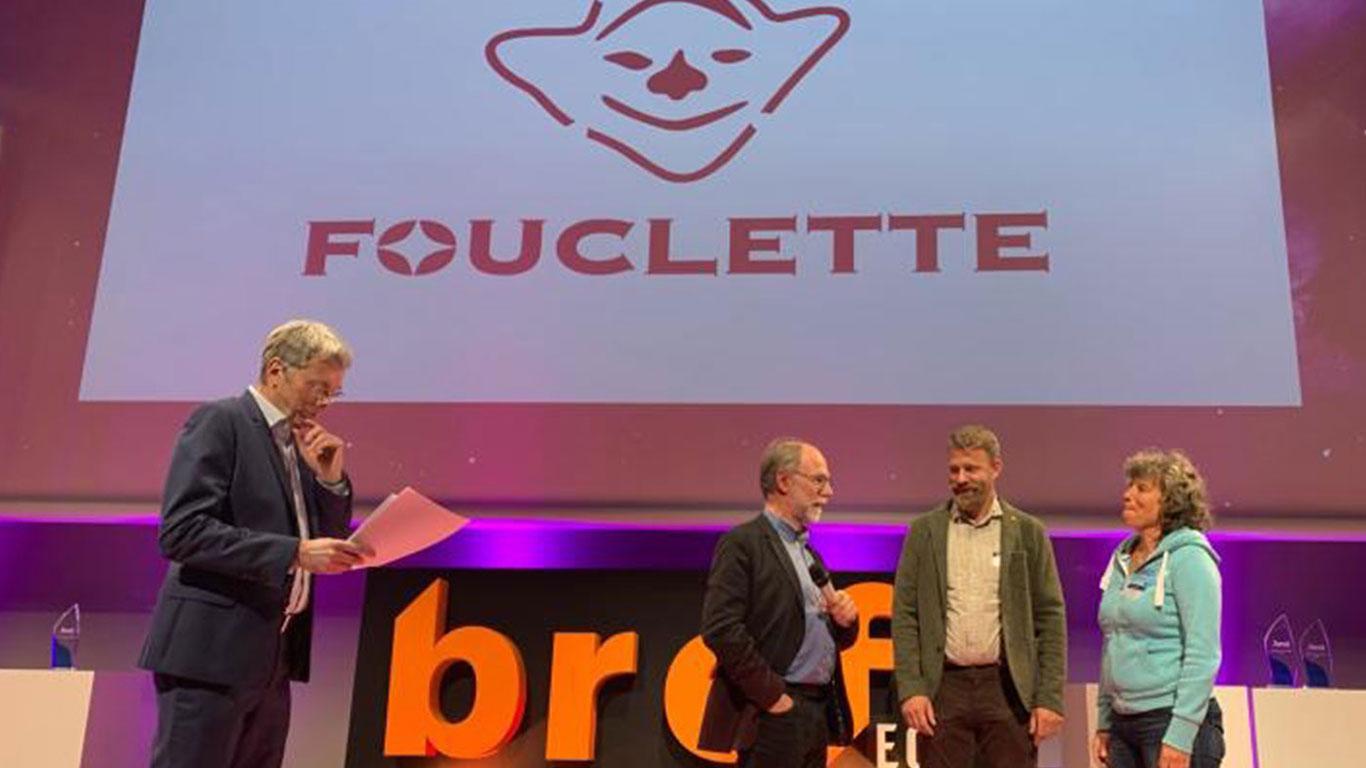 Les inventeurs du réchaud Fouclette reçoivent le trophée de l'innovation Bref Eco dans la catégorie sports et montagne