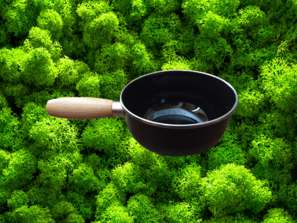 Le caquelon à fondue associé au réchaud nomade Fouclette