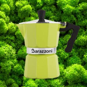 la cafetière italienne 3 tasses, aux couleurs du fouclette le réchaud nomade